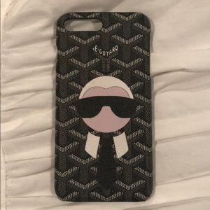 buy popular d424c b257b iPhone 7 Plus Goyard Case